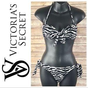 *Cheeky Bottoms 2 Pc Bikini Swimsuit Zebra Print